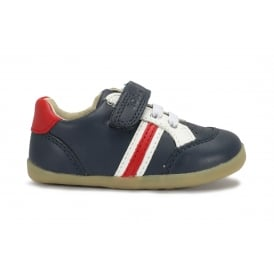 TRACKSIDE Navy/Red/White Casual Sporty Looking Pre/First Walker