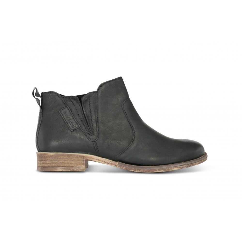 81c52707 JOSEF SEIBEL Sienna 45 Black Leather Ankle Boot - Ladies from ...