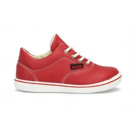 RUDI Red Lace Up Shoe